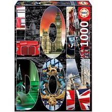 Educa 1000 Parça Puzzle London Collage 16786