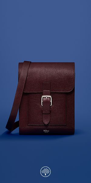 The Chiltern collection puts iconic, practical hardware front and centre. Each new style within the range has been designed with a particular purpose: to suit formal work occasions, weekends, hands-free travel or overnight stays. The Small Messenger was designed as a nod to Mulberry's early iconic satchels, modernised with accessible yet subtle external pockets and finished in classic veg tanned leather.