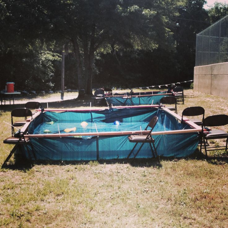 17 best ideas about redneck pool on pinterest above - Redneck swimming pool with hay bales ...