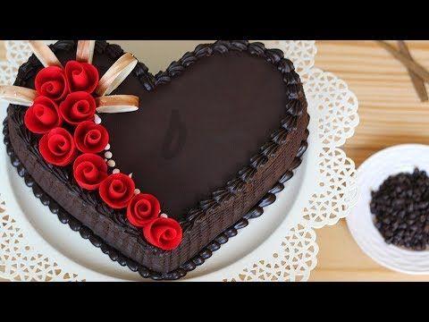 Amazing Heart Cake Decorating 😍 Heart Cake Decorating Ideas 2018 🎂 Cake St… – repostería sencilla