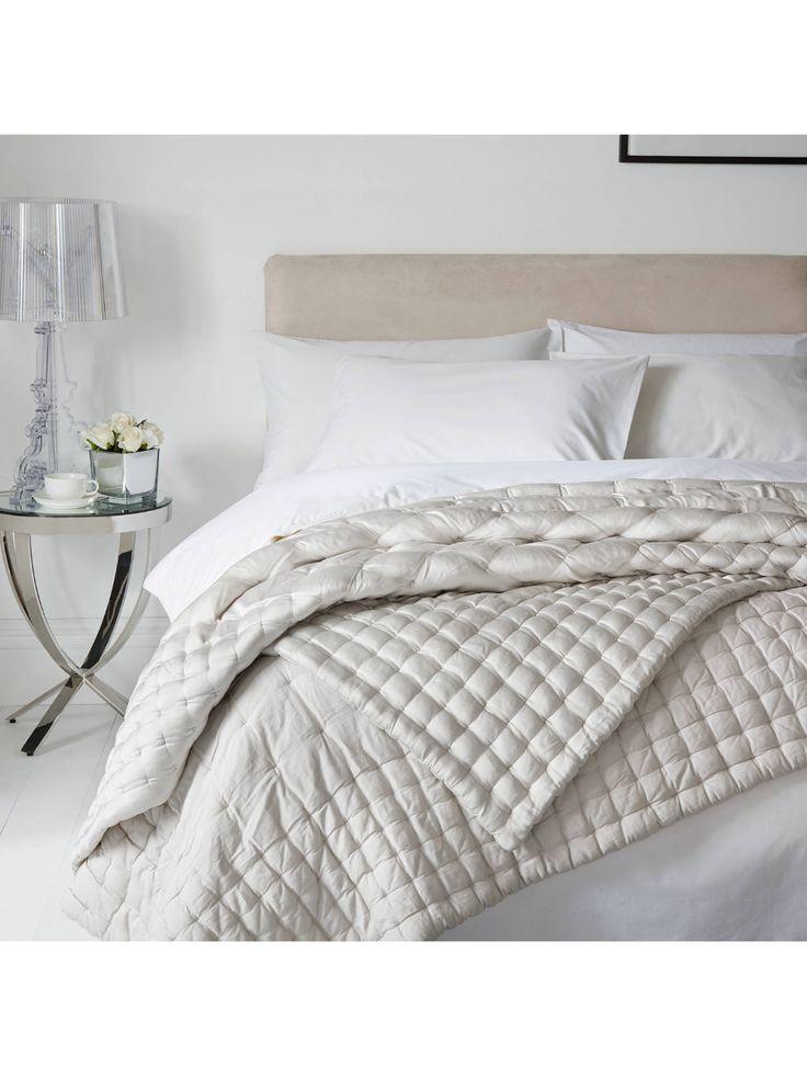 Boutique Hotel Bedrooms: John Lewis & Partners Boutique Hotel Silk Bedspread