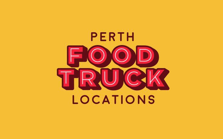 Logo for Perth Food Truck Locations. #design #branding #foodtruck