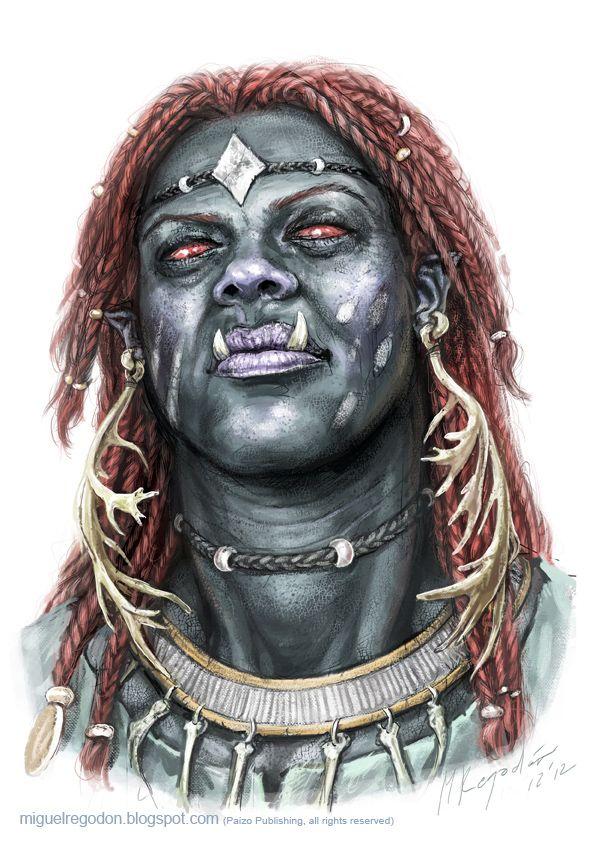Taiga Giant Shaman by MiguelRegodon.deviantart.com on @DeviantArt