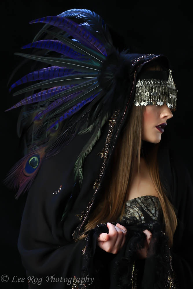 WOW ......  Custom Isadora Style Headdress - Feather Headdress. $220.00, via Etsy.
