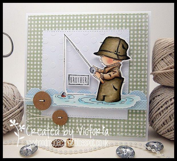 Vixx Handmade Cards: LILI OF THE VALLEY DT POST ~ FACEBOOK SKETCH INSPI...