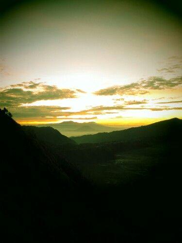Shining the mountain