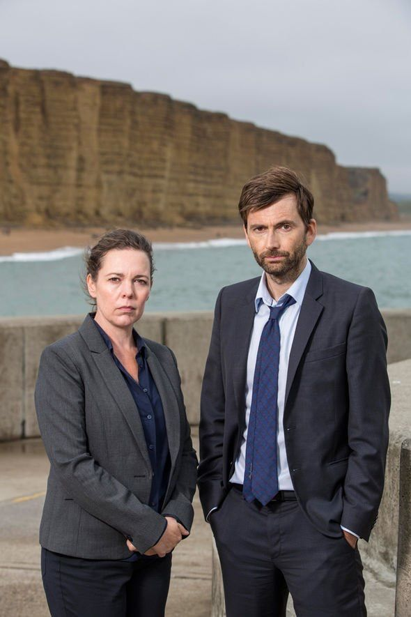 #Broadchurch 3 Miller and Hardy promo pic Source: ITV