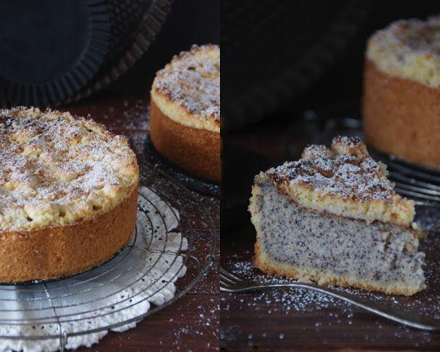 Saftiger Mohnkuchen mit Streuseln von Krümelkreationen