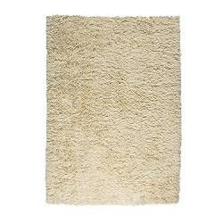 "Shaggy rug, good for the bedroom to make it cozy. Im also a firm believer in putting rugs on carpet. Protects the carpet and adds depth and layers.   VITTEN Rug, high pile - 4 ' 7 ""x6 ' 7 "" - IKEA"