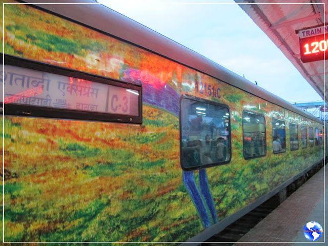 Viagens e Beleza: Viajando de Shatabdi Express para Calcutá!