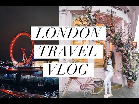 MY FIRST TIME IN LONDON! FOOD & SHOPPING VLOG - YouTube
