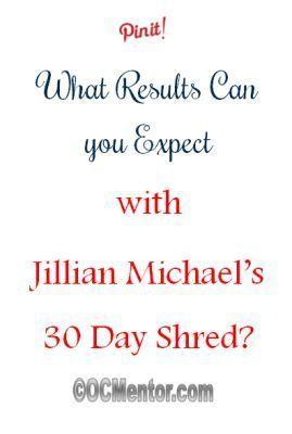 Jillian Michael's 30 Day Shred Results #Fitness