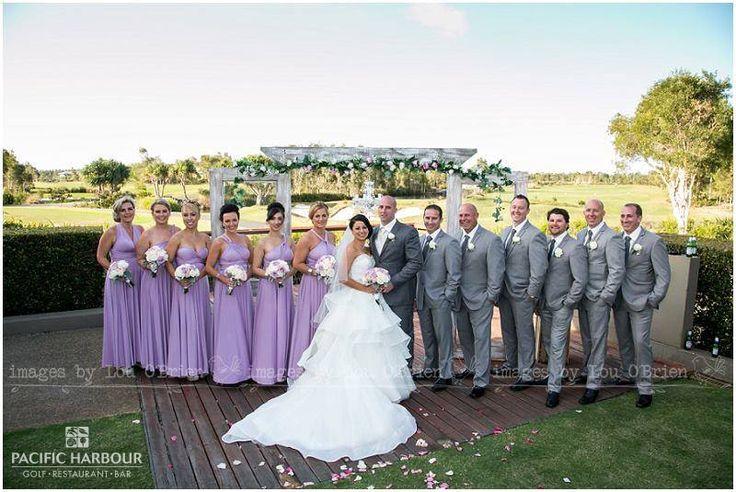 Francesca & Michael's wedding party photo taken at our beautiful venue