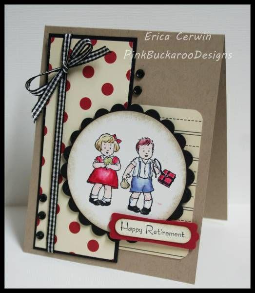 stampin up greeting card kids