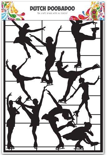 472.950.003 Dutch Paper Art  Ice Dansers
