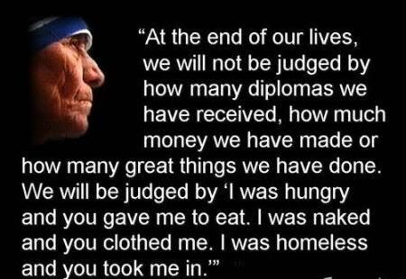 Mother Theresa: Quotes Sayings