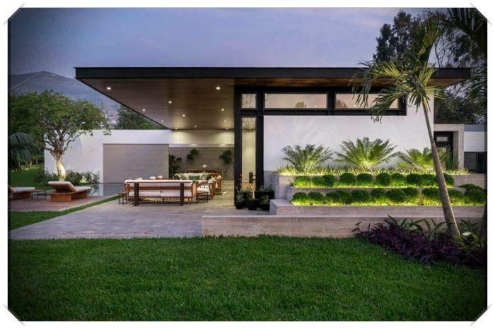 Diseno Exterior De Casas Modernas Ejemplares Para Actualizar Nuestra Vivienda Diseno Exterior De Casa Exteriores De Casas Modernas Diseno Exterior