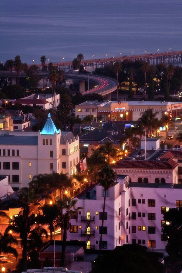 Downtown Ventura skyline