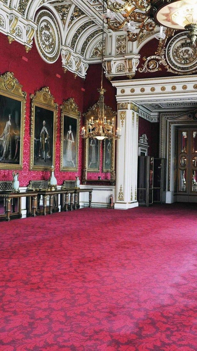 Buckingham Palace, interior | I'll take a palace! | Pinterest