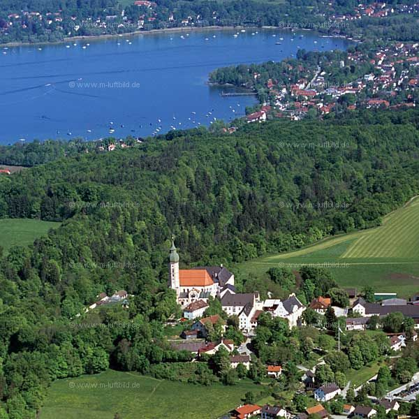 Kloster Andechs and lake Ammersee. Worth a visit!  #Bavaria #Marriott
