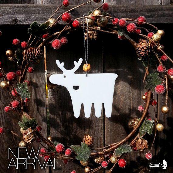 Moose Xmas Ornament on Wanelo