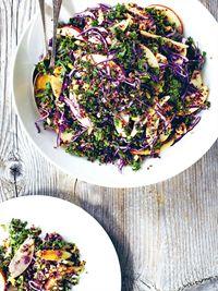 Nordic quinoa salad