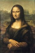 Mona Lisa (or La Gioconda)  by Leonardo Da Vinci