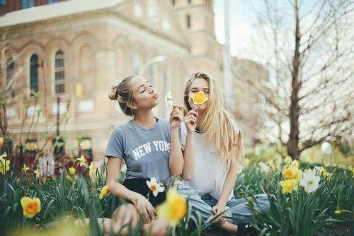 12 Lächerlich süße Fotos, die Sie diesen Sommer mit Ihrem besten Freund aufne… – 14_crazygirl_