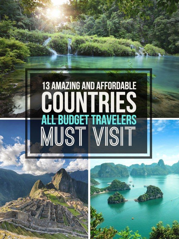 Where to go to get the most out of your dollar. Inspired by this Quora thread. You already know that there are so many awesome ways to travel when you're on a serious budget. But what's equally important is ~where~ you go in the first place.