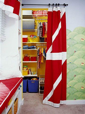 Clothes Closet Curtain Call