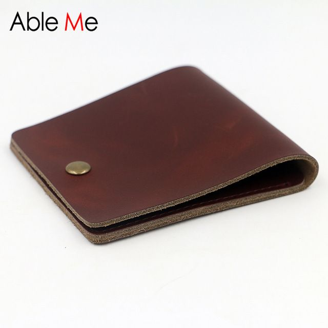 Check it on our site Stylish Handmade Men Wallet Short Section New Design Mini Leather Men Purse With Two Card Slots Creative Hand Made Custom Purse  just only $14.29 with free shipping worldwide  #walletsformen Plese click on picture to see our special price for you