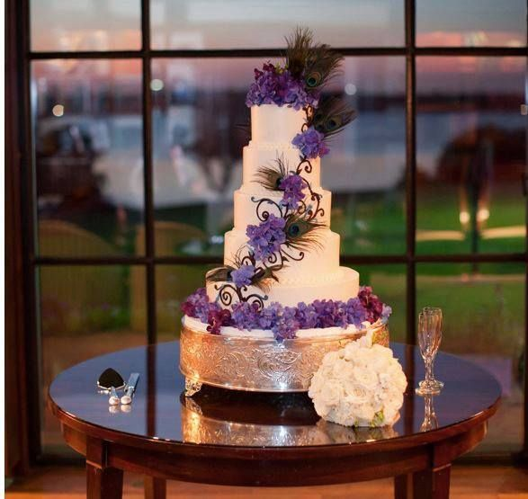 Peacock Feather Wedding Cake: 252 Best Peacock Wedding Cakes Images On Pinterest