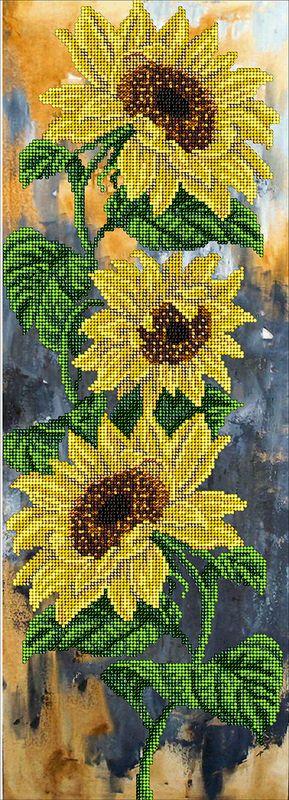 """Купить """"Цветок солнца 21115"""". Производитель: Краса i Творчiсть. Раздел: Наборы для вышивки бисером/Вышивание"""