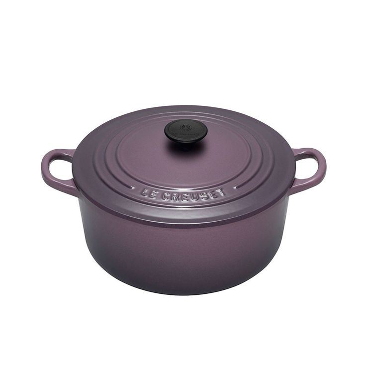 Rund Gryte, 420 cl. Cassis, Le Creuset