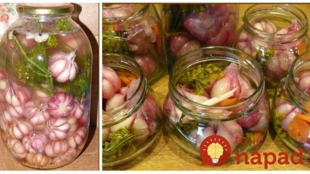 Starý a veľmi zdravý recept bez zavárania: Vyskúšajte nakladaný cesnak so zeleninou na kyslo!