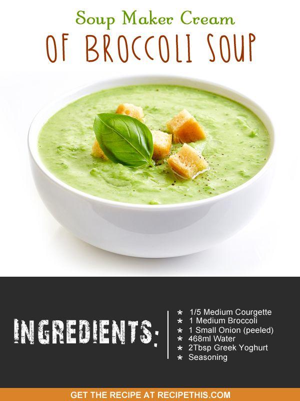 """Broccoli soup"""