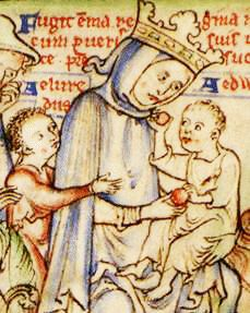 Emma of Normandy (c.985 – 1052), was a daughter of Richard the Fearless, Duke of Normandy, and sister of Richard the Good. She was queen consort of England as second wife to Æthelred the Unready, and then to King Cnut.