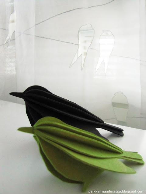 Lovi wooden birds