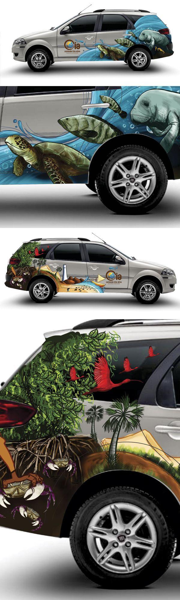 arte para plotagem de carro...