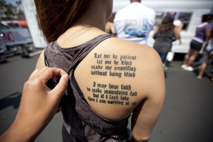 Lauryn Hill lyrics.Tattoo Ideas, Quotes Tattoo, Mountain Fall, Be Kind, A Tattoo, Lauryn Hills, Have Faith, Ink, Be Patient