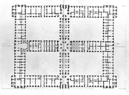 Royal Palace Caserta Ground Floor Plan Riba Ground