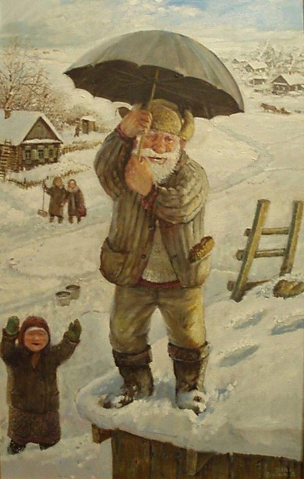 """""""Просто быть..."""": художник Леонид Баранов - Ярмарка Мастеров - ручная работа, handmade"""