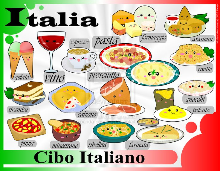 52 best images about italiano on pinterest language for Around the world cuisine