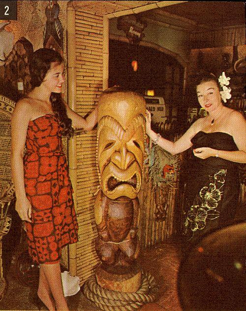 1950's Tiki Theme.