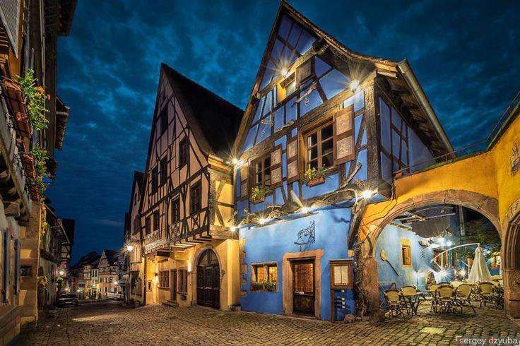 Сказочные домики французской деревушки Риквир