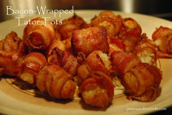Place the pan of bacon-wrapped tater tots on the cold side of the grill and cook with the lid closed for 30 – 40 minutes, or until bacon is crisped. Description from jamesandeverett.com. I searched for this on bing.com/images