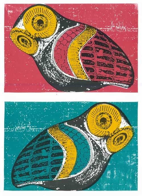 Print Mafia - Owls Set of 2