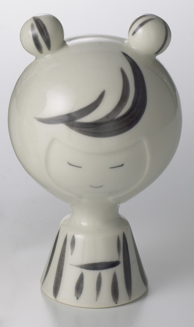 Ceramic Kokeshi Girl, Sculpture, Home Furnishings - The Museum Shop of The Art Institute of Chicago