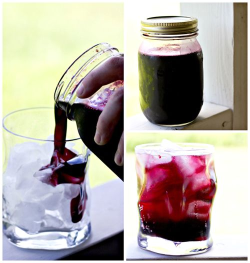 Homemade Blueberry Syrup for pancakes, waffles, French toast, and SODA! | www.foodiewithfamily.com