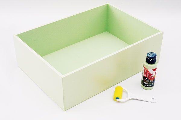 Pintura em caixas de madeira - Portal de Artesanato - O melhor site de artesanato com passo a passo gratuito: Ems Caixa